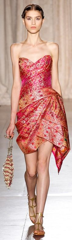 Marchesa SS RTW 2013   The House of Beccaria