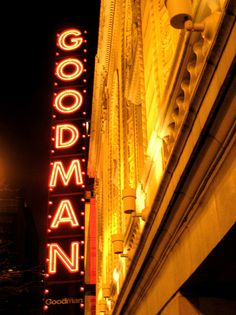 Goodman Theater, Chicago. Great memories of shows at the Goodman