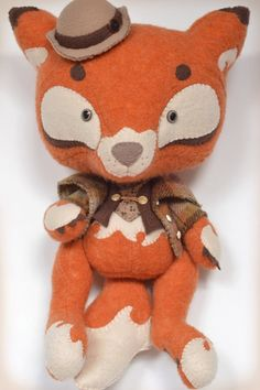 Sherlock Fox by MarieChou on Etsy. Part of me says I like it. Part of me says no... And yet I still want it :P