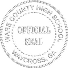 Image of an Official Seal embossing example