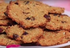 Zabpelyhes-almás keksz Diabetic Recipes, Diet Recipes, Healthy Recipes, Recipies, Healthy Cookies, Healthy Desserts, Sweet Desserts, Dessert Recipes, Health Eating