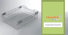 Buy Stainless Steel Kitchen Baskets Online For Your Modular Kitchen There are numerous stainless steel kitchen baskets available online in different shapes and sizes according to the size and need of different kitchens. Kitchen Base Cabinets, Kitchen Tools, Kitchen Appliances, Kitchen Baskets, Vegetable Basket, Kitchen Corner, Stainless Steel Kitchen, Beautiful Kitchens, Kitchen Accessories