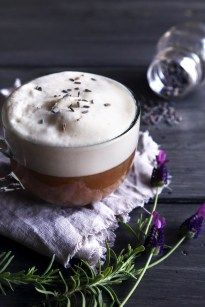 Almond Milk London Fog with Lavender - Wifemamafoodie