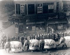 "Since 1924, Macy's has held annual parades on Thanksgiving Day. First known as the ""Macy's Christmas Parade,"" the name changed a few years l..."