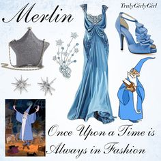 Disney Style: Merlin, created by trulygirlygirl on Polyvore