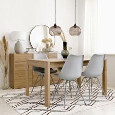 Hegas mesa extensible / Una mesa práctica y con estilo Hegas, una mesa de comedor extensible de líneas sencillas ideal para tener invitados, ya que se extiende hasta 180 cm. Decor, Table, Furniture, Decoracion, Home Decor, Dining, Dining Table