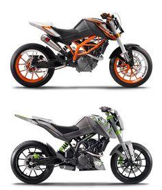Ktm Motorcycles, Custom Motorcycles, Custom Bikes, Ktm Duke, Moto Bike, Motorcycle Bike, Ktm 380, Street Fighter Motorcycle, Motorbike Design
