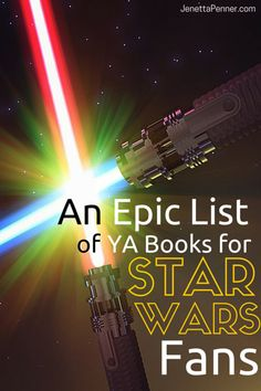 Are you a Star Wars Lover like me?  Then you are going to love this great list of Young Adult books set in space. Pinning this!