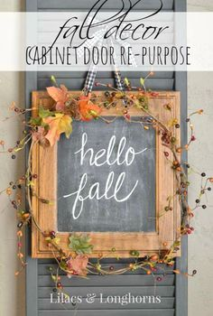 Cozy Little House: Six Fall Crafts To Make