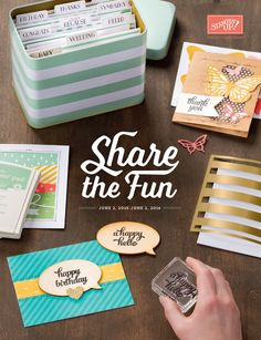 Stamping, Card Making, Scrapbooking and Paper craft fun with Independent Stampin' Up! Buy Stampin' Up! Birthday Thanks, Birthday Cards, One Sheet Wonder, Glass Magnets, Envelope Punch Board, Stampin Up Catalog, Baby Shower Cards, Stamping Up, Craft Fairs