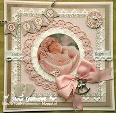 Voorbeeldkaart - ...Baby Girl... - Categorie: Scrapkaarten - Hobbyjournaal uw hobby website