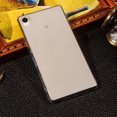 Crystal Transparent Cool Clear TPU Case For Sony Xperia M4 Aqua Dual E2303 E2333 E2353 Ultra Thin Soft Phone Protective Cover