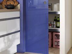 Раздвижная дверь из синего стекла, производитель: Sprinz
