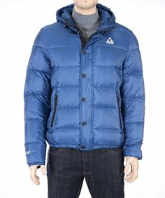 GERRY Mens Hooded Light Weight Down Packable Puffer Ski Coat Blue S Gerry ++ You can get best price to buy this with big discount just for you.++