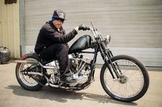 when i grow up. I wanna be jason jessee... but i also wanna be dead and in heaven, too. Harley Davidson Roadster, Harley Davidson Museum, Harley Davidson Panhead, American Motorcycles, Old Motorcycles, Chopper Motorcycle, Bobber Chopper, Scooters, Harley Panhead