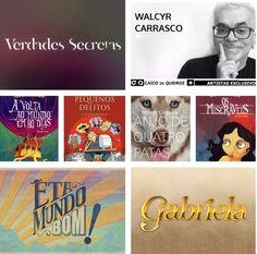 Walcyr Carrasco ( @walcyrcarrasco ) dramaturgo, escritor, jornalista e roteirista, ganhador do Prêmio Emmy Internacional e o APCA 2016 👏🏻 Agora ele fará parte do nosso time de exclusivo.  Seja bem vindo para nossa família, Muito Feliz 😀 #personalidadecaiodequeiroz #caicodequeiroz #walcyrcarrasco