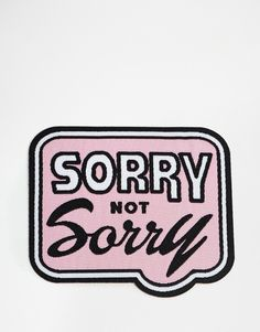 Image 2 of Ohh Deer Sorry Not Sorry Iron On Patch