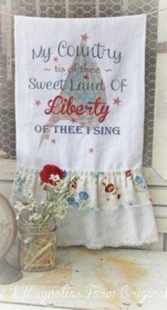 Liberty kitchen towel