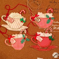 Hello Friends, If you have followed my blog for a while you know that every summer as time permits I start making Christmas tags to giv...
