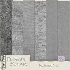 Textured Vol. 1 - $2.39 : Digital Scrapbooking Studio