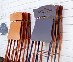 Chaises pliantes colorées - Bagatelle Fermob