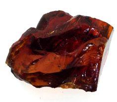 Amber Andara Crystal From California Specimen Number 72