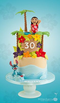 Little Cherry Cake Company - Lilo and Stitch Cake
