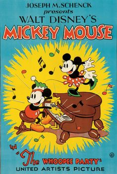 super Ideas for vintage posters disney mickey mouse Walt Disney, Disney Pixar, Disney Micky Maus, Retro Disney, Disney Animation, Disney Art, Disney Movie Posters, Classic Movie Posters, Cartoon Posters