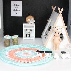 Accessoires | Kleedje Set | Pastel Mix • Mini-Tipi.nl www.mini-tipi.nl