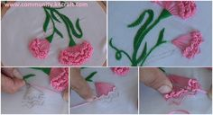 Hand Embroidery: Carnation Flower Tutorial: DIY: Coaster using Popsicle Stick Related posts: Hand Embroidery Stitches Tutorial For Beginners DIY Hand Embroidery Puffed Flower with Beads How to Make Mirror Work Designer Kerala Saree Basic Hand Embroidery Stitches for Beginners Ric Rac Basic Stitches | Hand Embroidery for Beginners Scalloped Beaded Buttonhole Edging Tutorial Step By…
