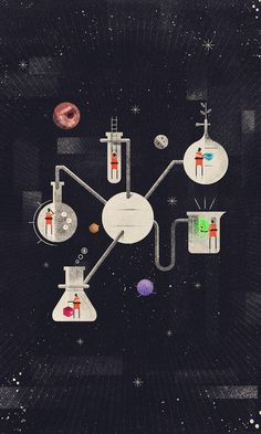 How to set up a DNA extraction lab: A comprehensive guide (chemicals, instruments and other utilities) Gravure Illustration, Illustration Art, Chemistry Art, Chemistry Posters, Space Lab, Whatsapp Wallpaper, Design Poster, Science Art, Science Doodles