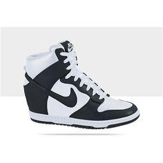 san francisco 23b56 c68c3 Nike Dunk Sky Hi Women s Shoe ( 120) ❤ liked on Polyvore All Nike Shoes