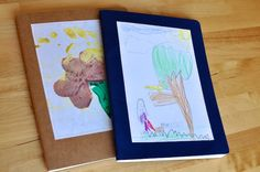 """""""Flying books:"""" a book, filled with art and letters, that the kids mail back and forth to their grandparents or relatives.  ---SUCH a great idea!!"""