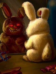 Bunny Horror Wallpaper
