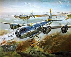 US Army Air Force Print World War II.   P905 by swanstudio on Etsy, $16.00