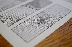 Beautiful bookmarks!  Download it here: http://www.newgreenmama.com/2011/12/zentangle-bookmarks-free-printables.html