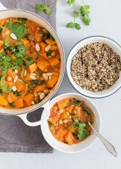 Fresh & Easy: Zoete aardappel curry | Uit Paulines Keuken | Bloglovin'