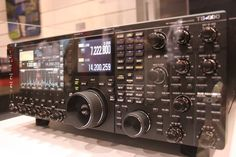 Kenwood TS990s on display at Hamvention.    Looked awesome...