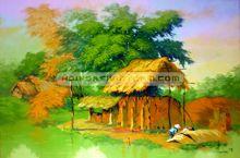 Tranh làng quê Việt Nam 007