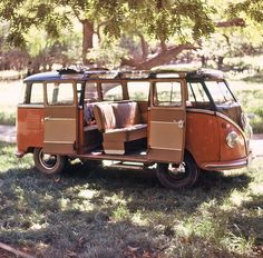 Volkswagen camper on a picnic, Garden Canyon, Fort Huachuca, Arizona, summer 1962. This was a beautiful vehicle for exploring around Fort Huachuca and Sierra Vista, Arizona.