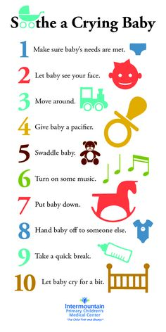 how to help a baby stop crying in the car