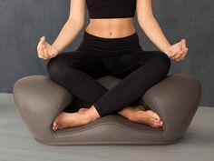 Alexia: Ergonomic Meditation Seat - Vegan Leather