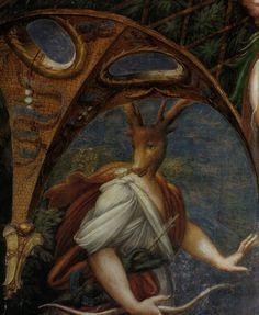 Parmigianino, Atteone, Fontanellato