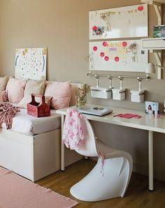 Mädchenzimmer deko  mädchenzimmer gestalten dekorieren schöne ideen | Deko | Pinterest ...