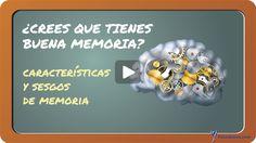 ¿Crees que tienes BUENA MEMORIA? características y sesgos de memoria Psicologia, Create, Hacks