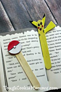DIY Pokemon Bookmark And Pointer