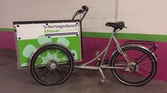 gemeente 's-Hertogenbosch werkt aan een klimaatneutrale stad. Regelmatig trekken we er op uit met de klimaatneutraal-bakfiets.