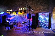 Double Cocktail Wedding band Algarve. our party set up adjustable to every venue  www.doublecocktail.com