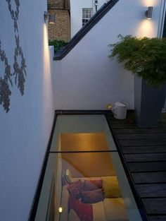 No Skirts Allowed When You Have A Transparent Glass Floor In Your House