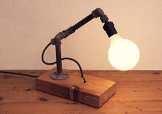 DIY Construction Lamps / Lámpara MIC